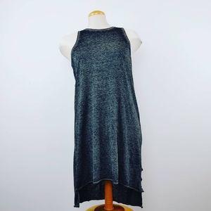 FOX | Twist Knot Beach Slip Dress Size Large Gray